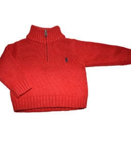 RALPH LAUREN Pullover Red Style