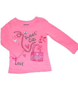 DKNY T-Shirt Pink Sweet Girl