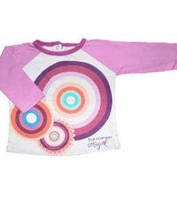 Desigual Sweatshirt Purple Grand Circle