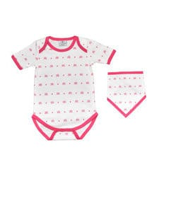 KIAMONDS SET - Body Ks Pink + Dreieckstuch Ks Pink