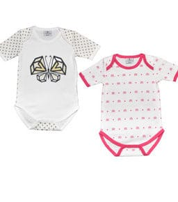 KIAMONDS SET - Body Butterfly + Body Ks Pink