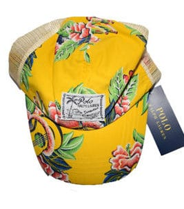 RALPH LAUREN Cap Yellow