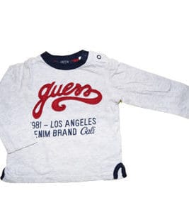 GUESS T-Shirt Long LA Denim