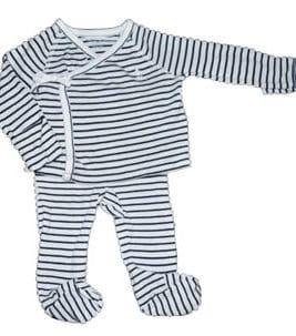 RALPH LAUREN Ensemble Blue Stripes