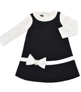 KIAMONDS Selection Kleid Black&White