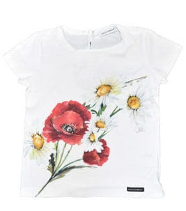 DOLCE & GABBANA T-Shirt Summer Flower